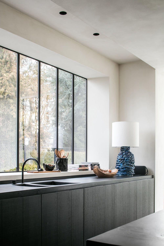 Realisaties | Küche | Pinterest | Küche, Fenster und Offener wohnplan