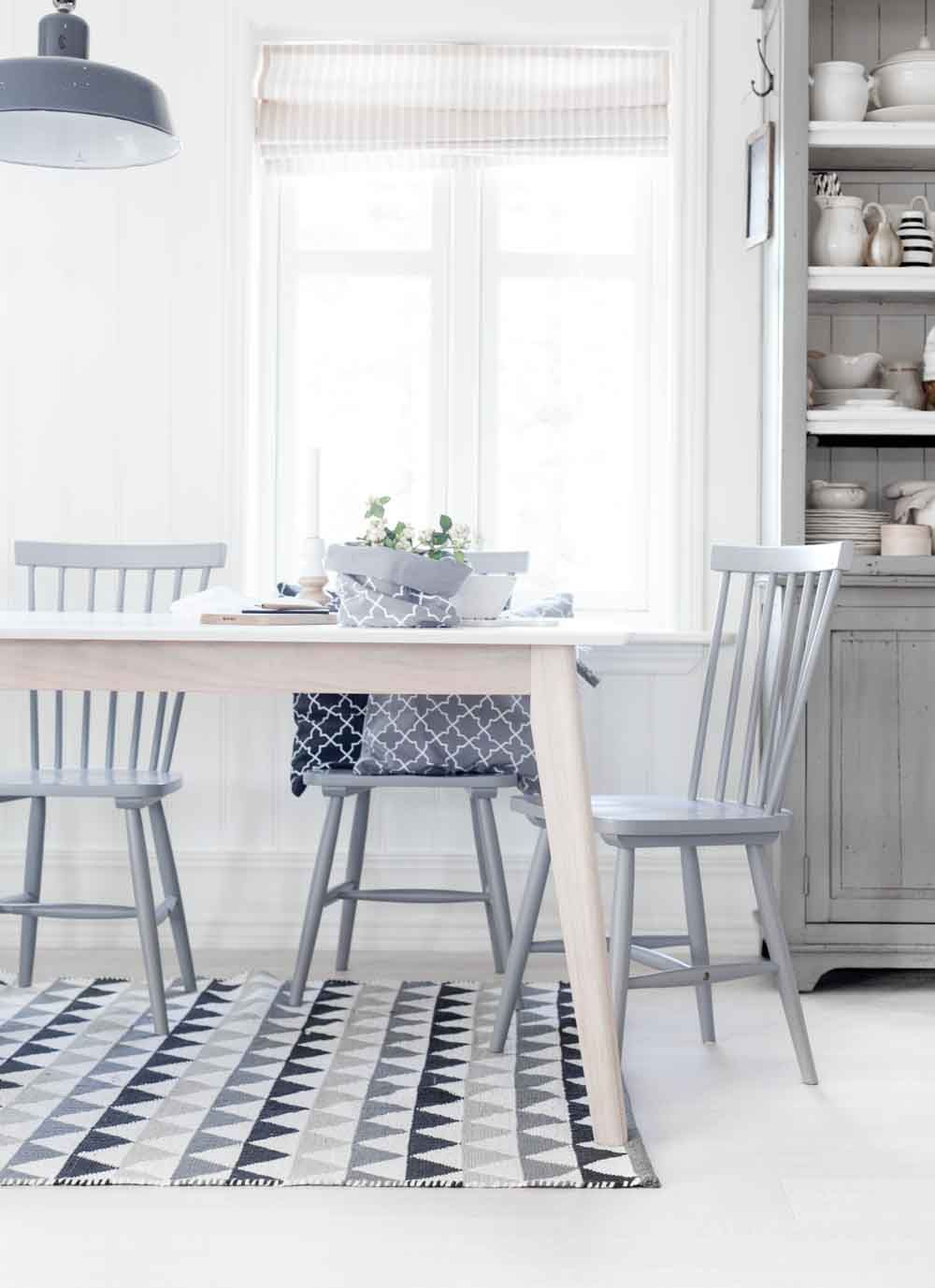 nordic dining area in soft tones | KITCHENS+DINING AREAS | Pinterest ...