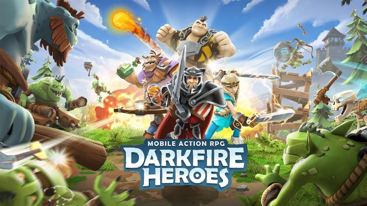 Darkfire Heroes android game first look gameplay español