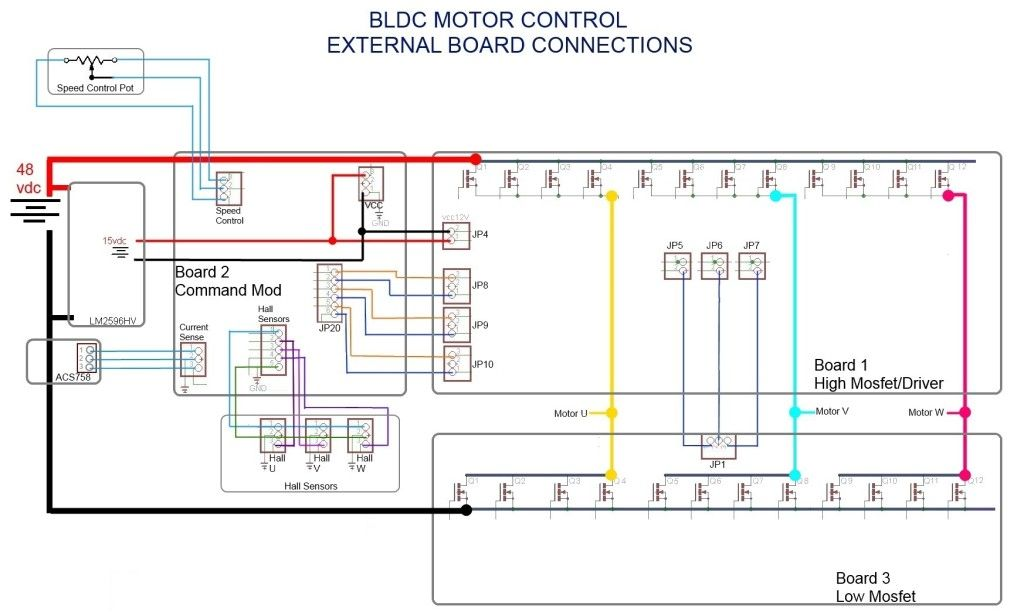 3 Phase Brushless Dc Motor 3 Phase Brushless Dc Motor Controller Brushless Esc Brushless Motors 3phase Invert Circuit Projects Control Circuit Diagram