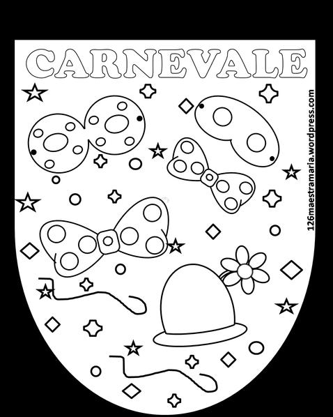 carnevale disegni e bandierine scuola carnival art e