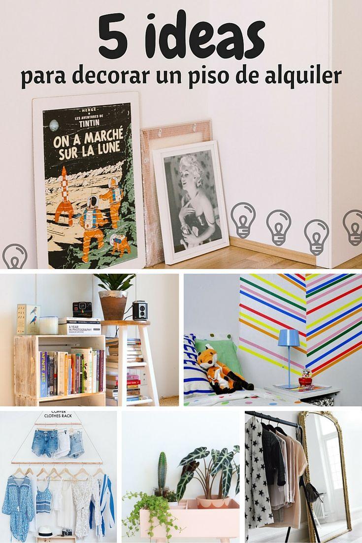 5 ideas para decorar un piso de alquiler qu pasa si no - Que pasa si se rompe un espejo en casa ...