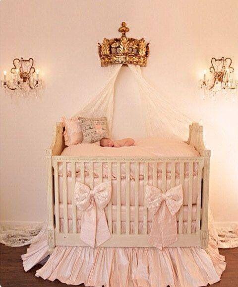 Royal Crib For A Princess Baby Crib Bedding Baby Girl Room
