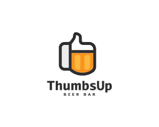 Preferenza ThumbsUp Beer Bar by nikola | Beer bar design, Pub logo, Beer bar KA86
