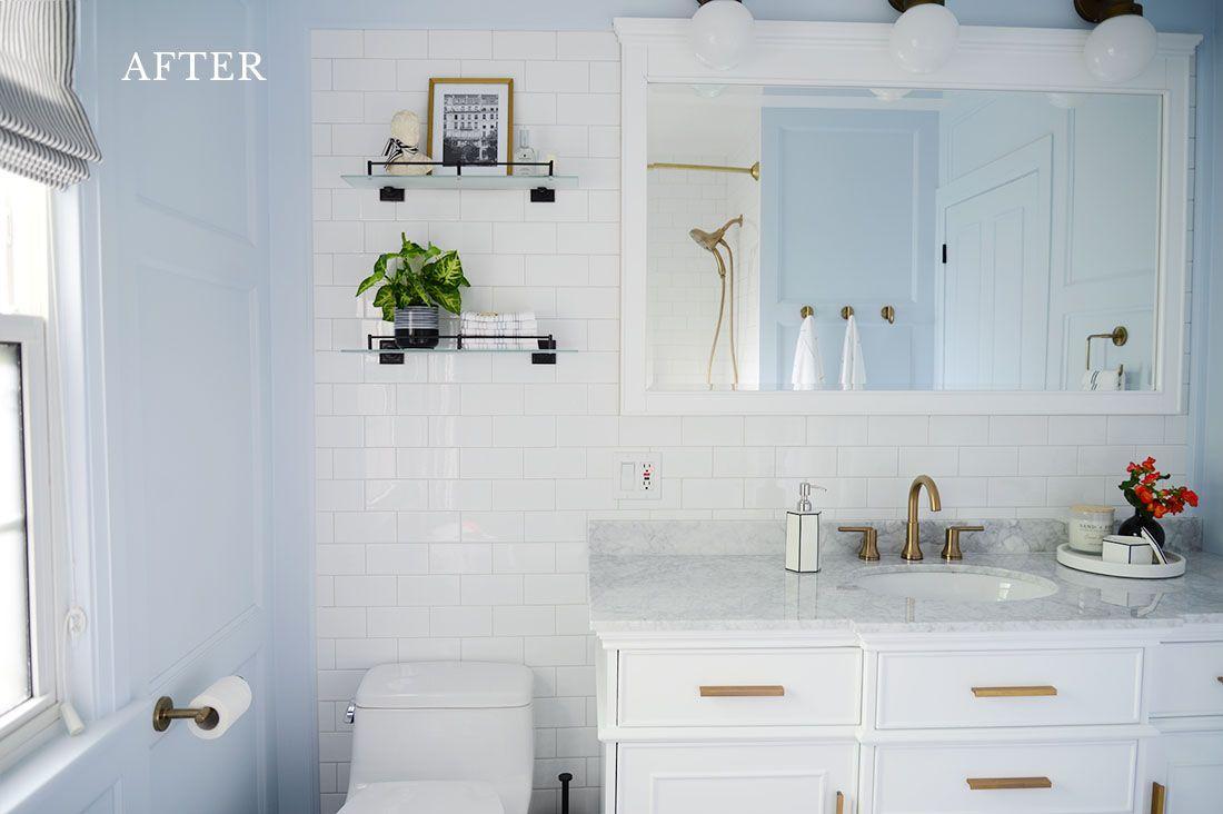 Rambling Renovators French Style Bathroom Renovation In 2021 Home Depot Amazing Bathrooms