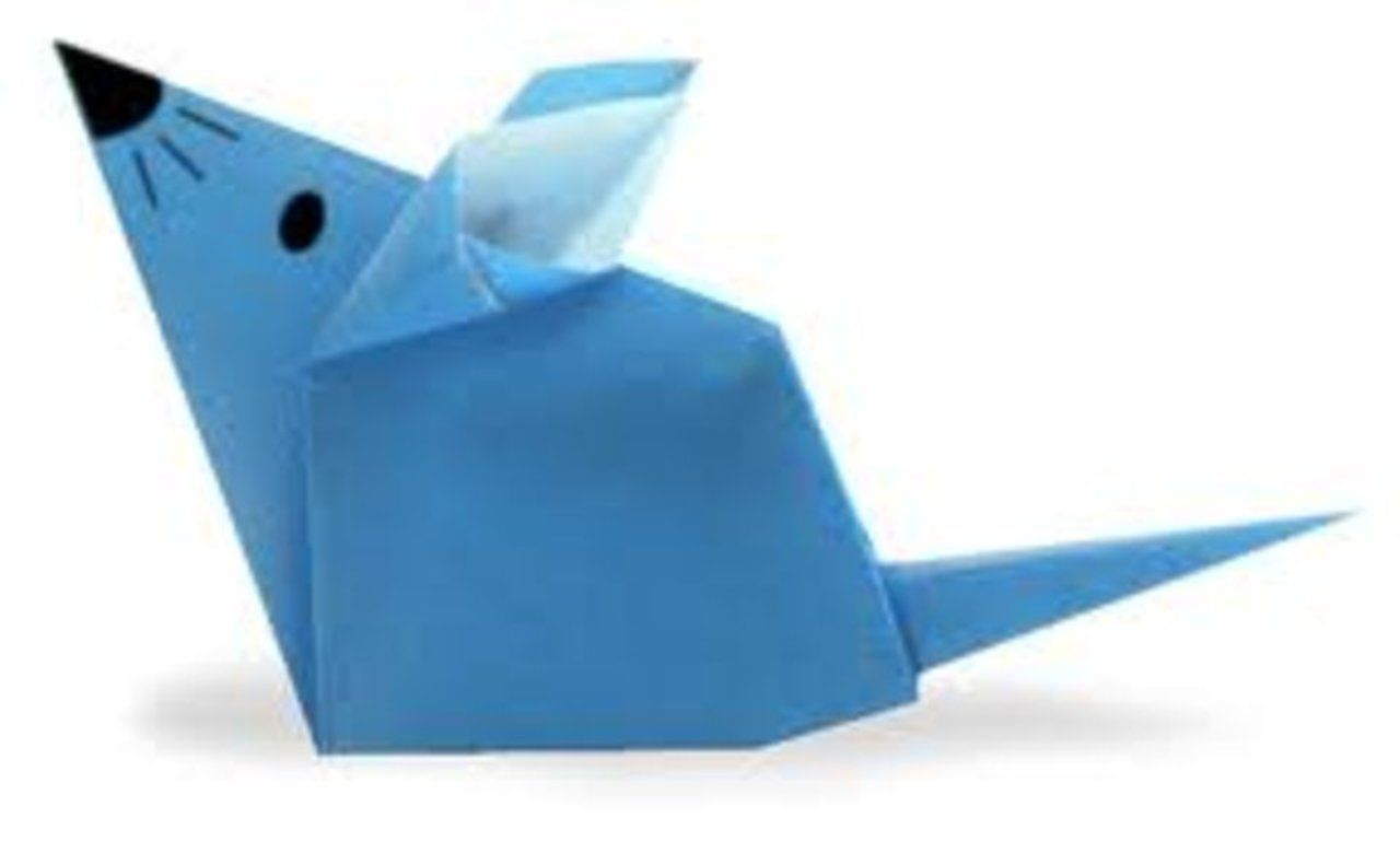 Quick Tip Origami Mouse On Vimeo Pinterest Mousemouse Diagram Instructions Pictures
