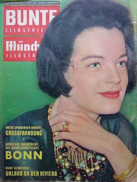 Romy Schneider - Bunte Magazine [Germany] (August 1961)