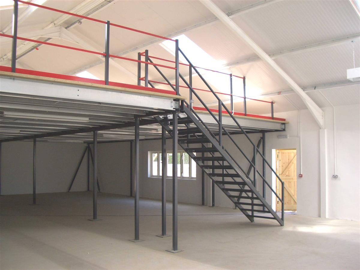 A Storage Platform Mezzanine Floor Is Exactly As It Sounds A Mezzanine Floor Used For Storage Purposes Flooring For Stairs Mezzanine Floor Mezzanine