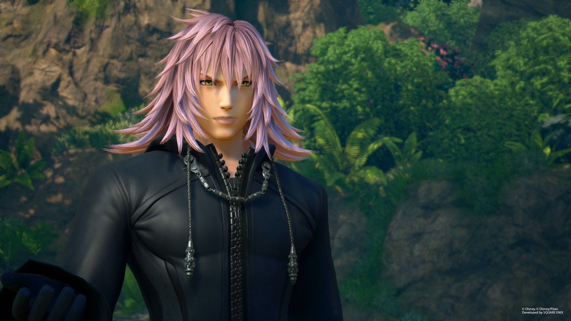 Kingdom Hearts 3 Tangled World Screenshot Of Marluxia Kingdom