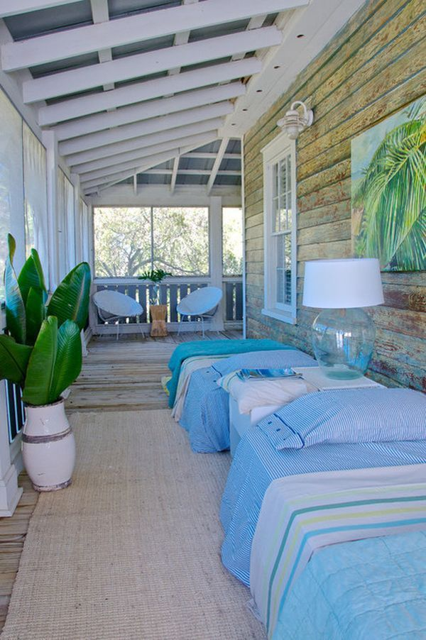 How To Style A Sleeping Porch Colors, Designs & Accents