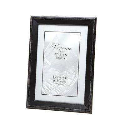 Lawrence Frames Tuxedo Picture Frame Size: 8\
