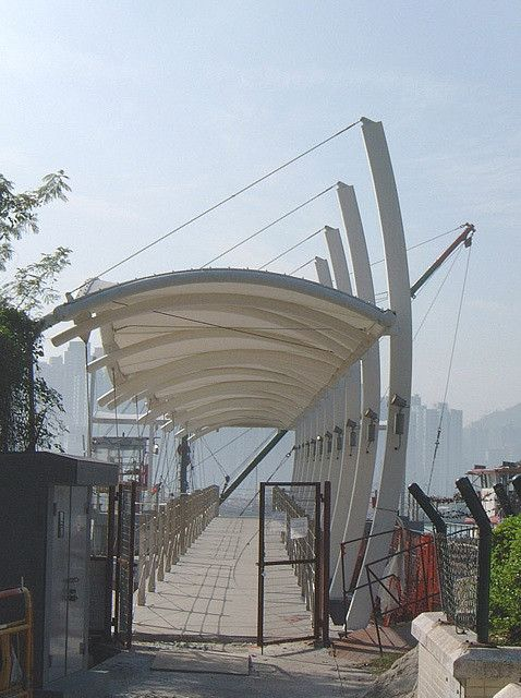 Kadoorie Pier, Golden Coast, NT, HK