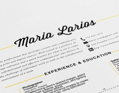 Personal Branding  Resume Resumes Pinterest Personal branding