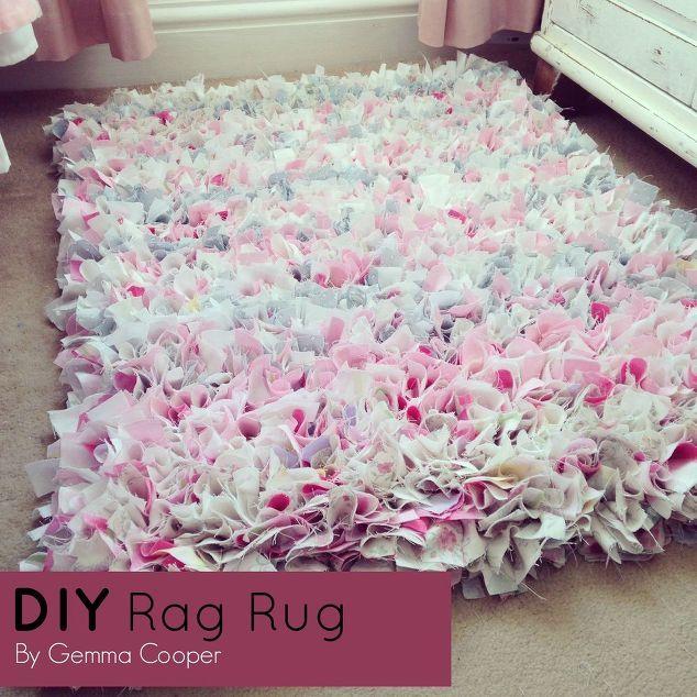 Diy Rag Rug By Gemma Cooper Upcycling Ideas Rag Rug