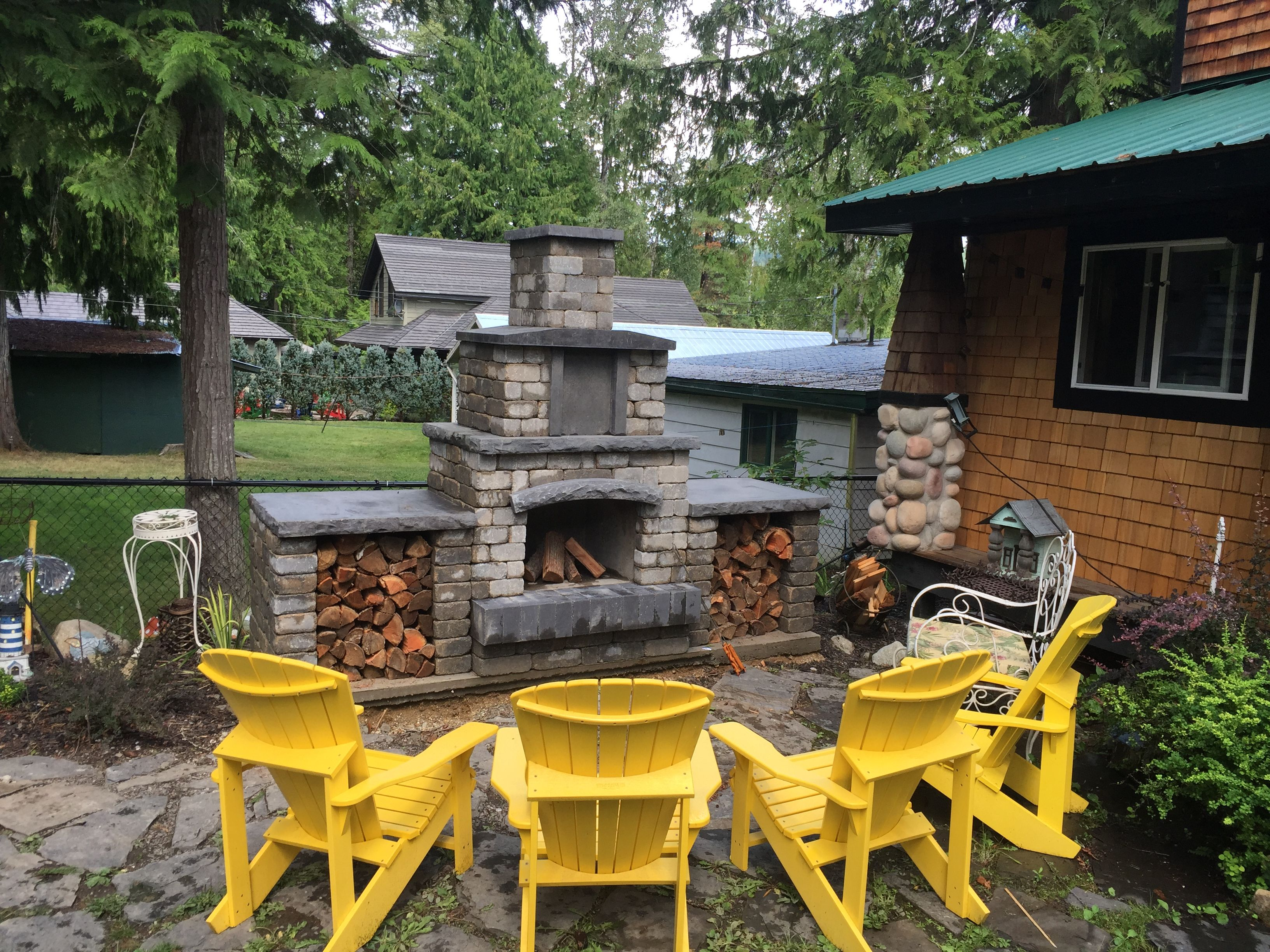 barkman oasis fireplace installed at the cabin this is a diy kit
