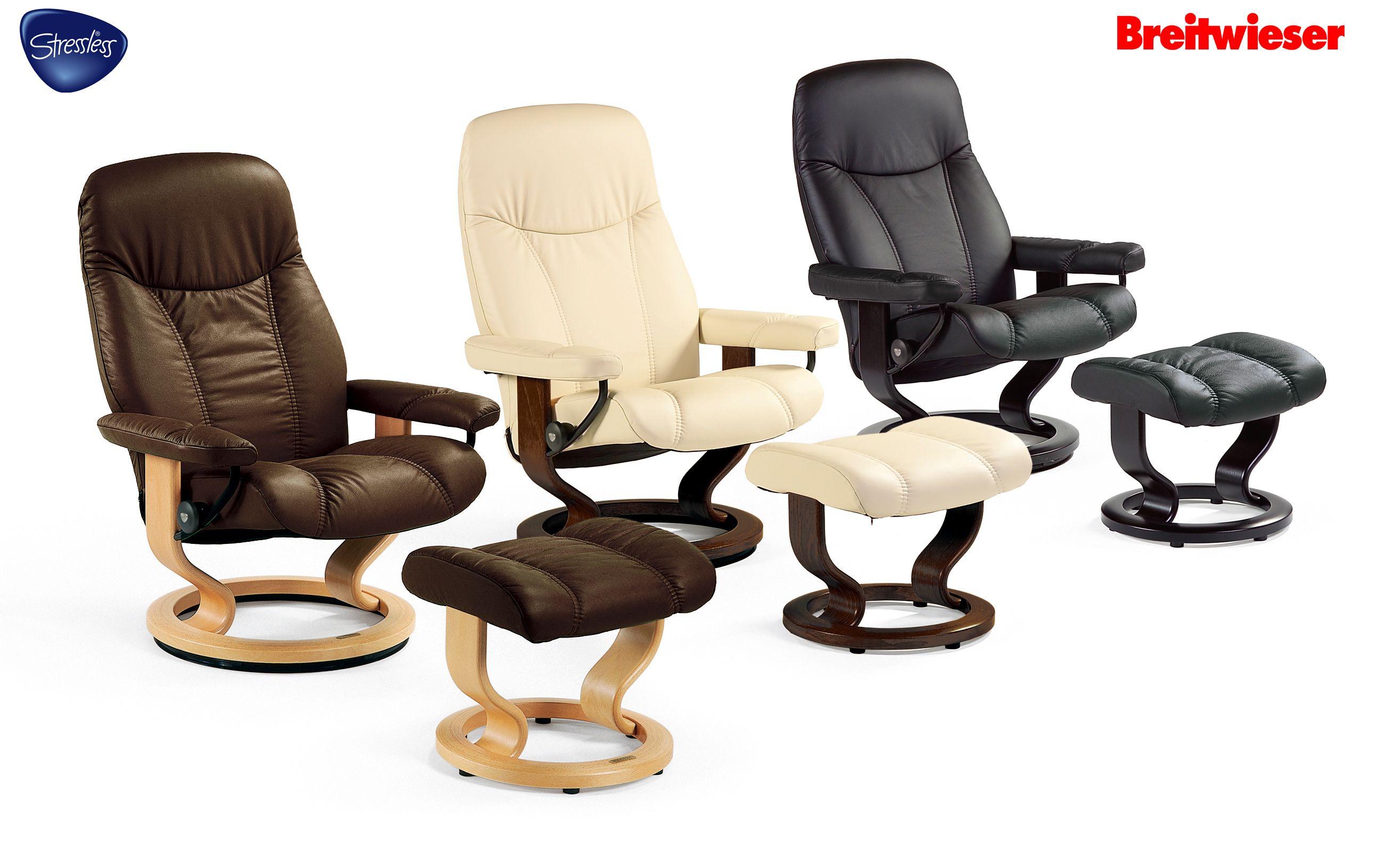 Popular STRESSLESS bei Breitwieser Diese Stressless Sessel geben Ihnen ein gutes Gef hl am richtigen Platz zu
