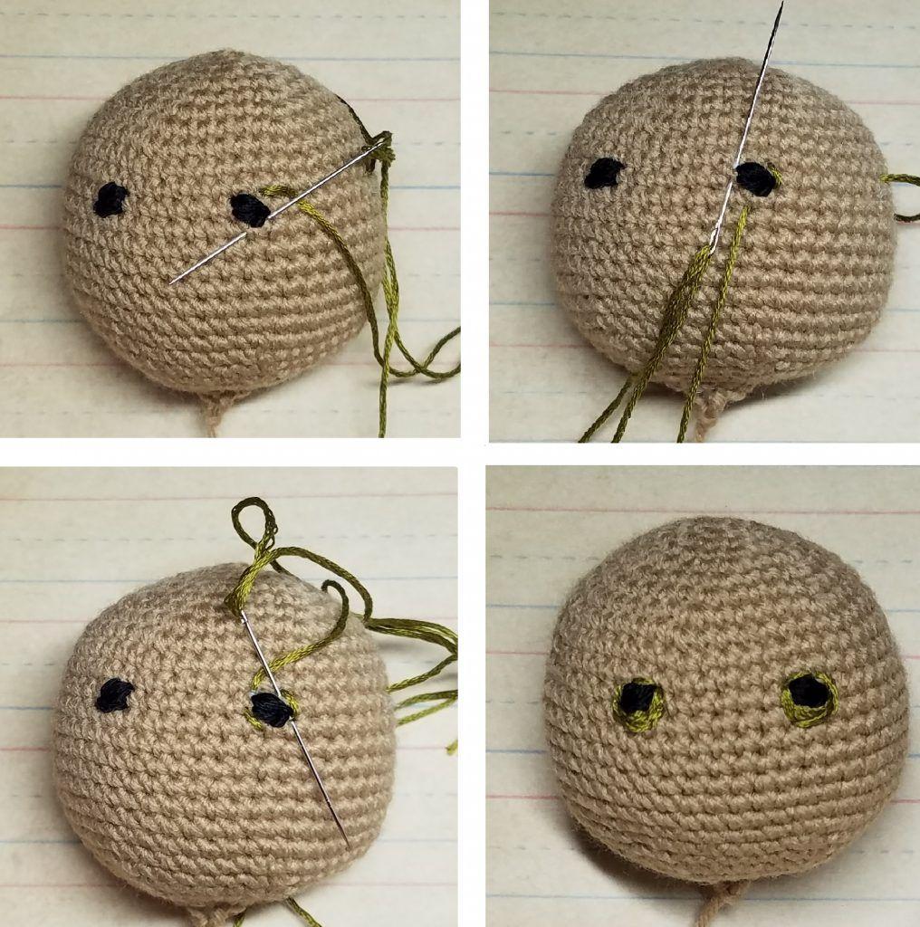 How to embroider mouth | Crochet amigurumi, Crochet, Crochet dolls | 1024x1016