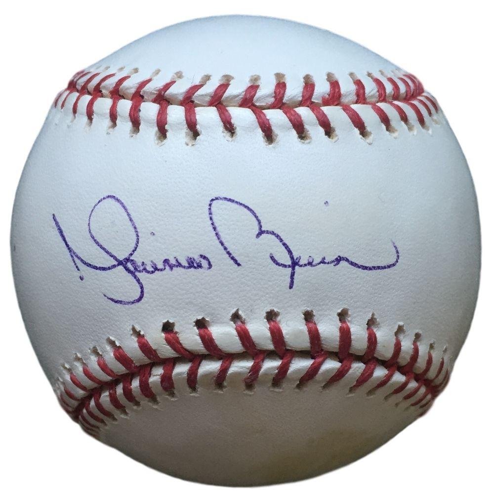Mariano Rivera New York Yankess Signed Official Mlb Baseball Psa Mlb Baseball Baseball Mlb