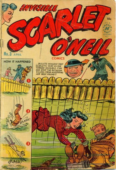 Scarlet O'Neil #comic