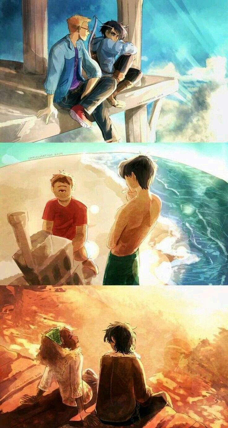 Heroes Of Olympus Siblings First Jason And Thalia Grace Second Tyson And Percy Jackson Third
