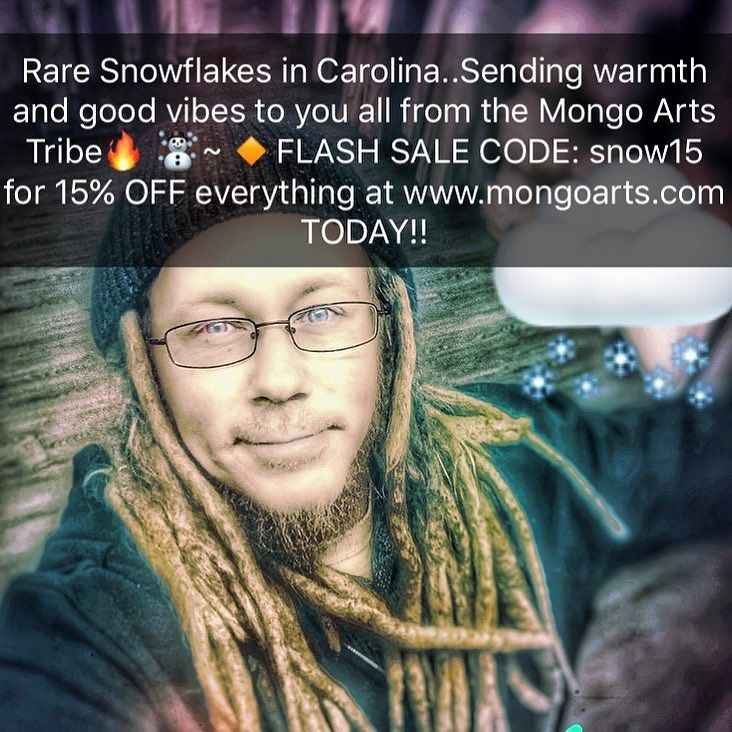Flash Sale Code: Snow15 for 15% off www.mongoarts.com -Ends midnight PST.