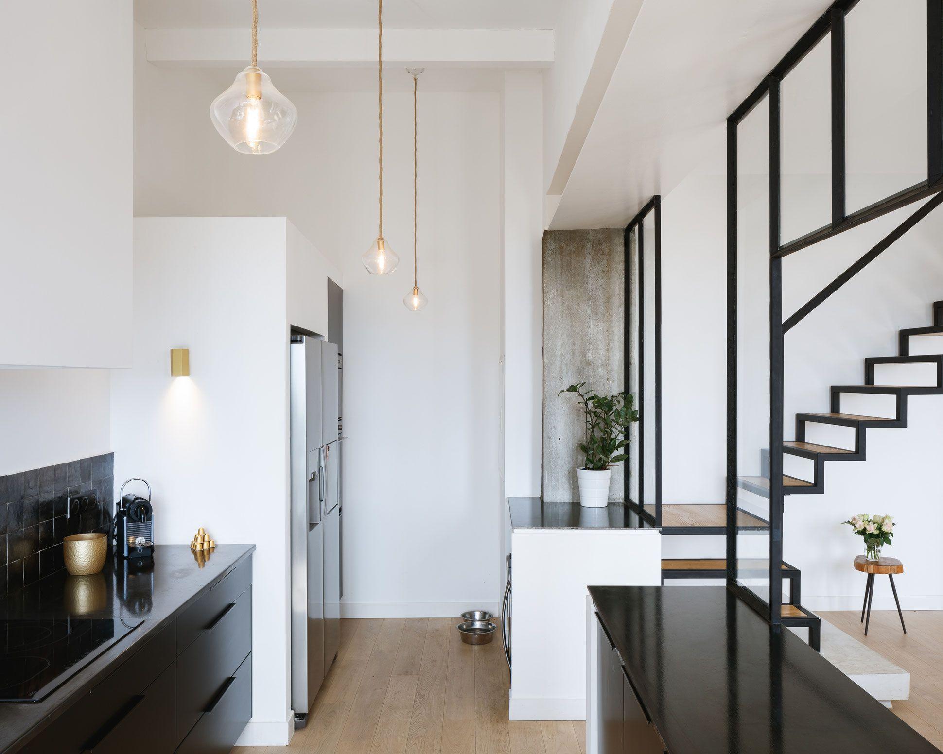 Verriere Cuisine Noire ~ Bertrand Guillon Architecture Architecte Marseille Maison Gm