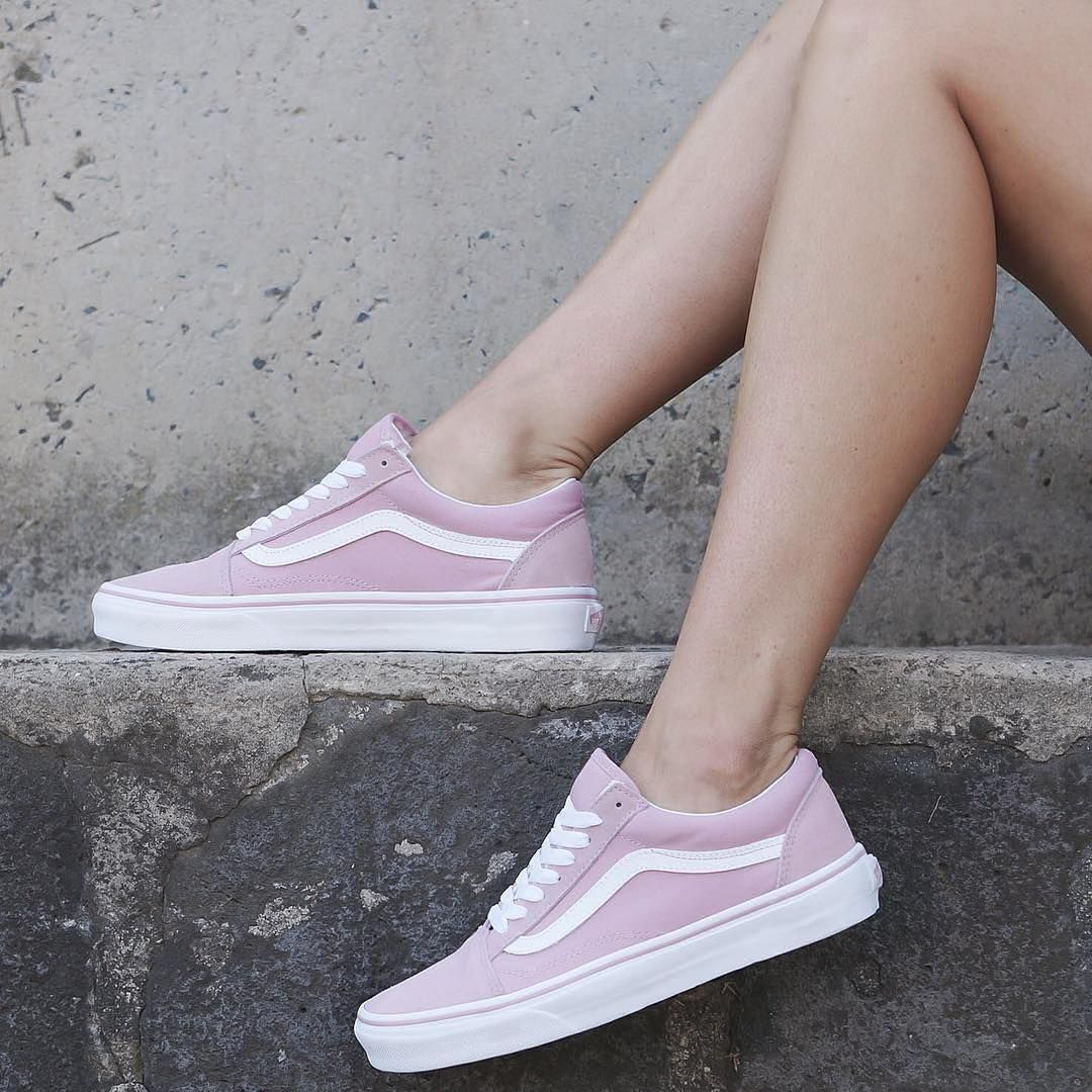 Sneakers women Vans Old Skool pink (©solefiness) (avec