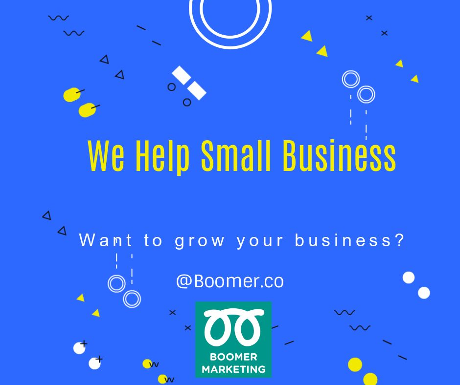 We love helping Small business Want to grow your business