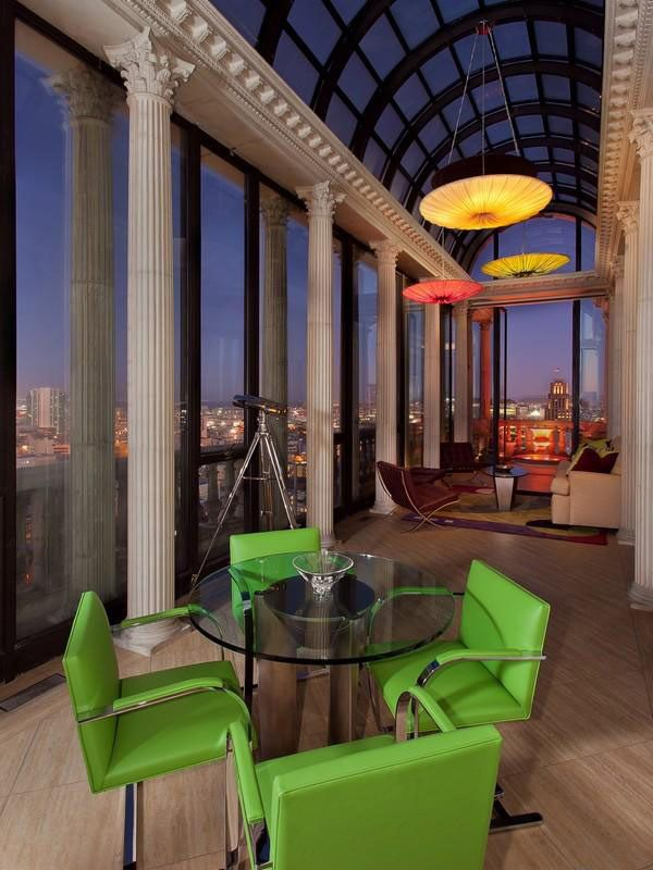 Collect This Idea We Ran Across Impressive Penthouse In San Francisco Defined By Color Inspirational Interior Design And Luxury
