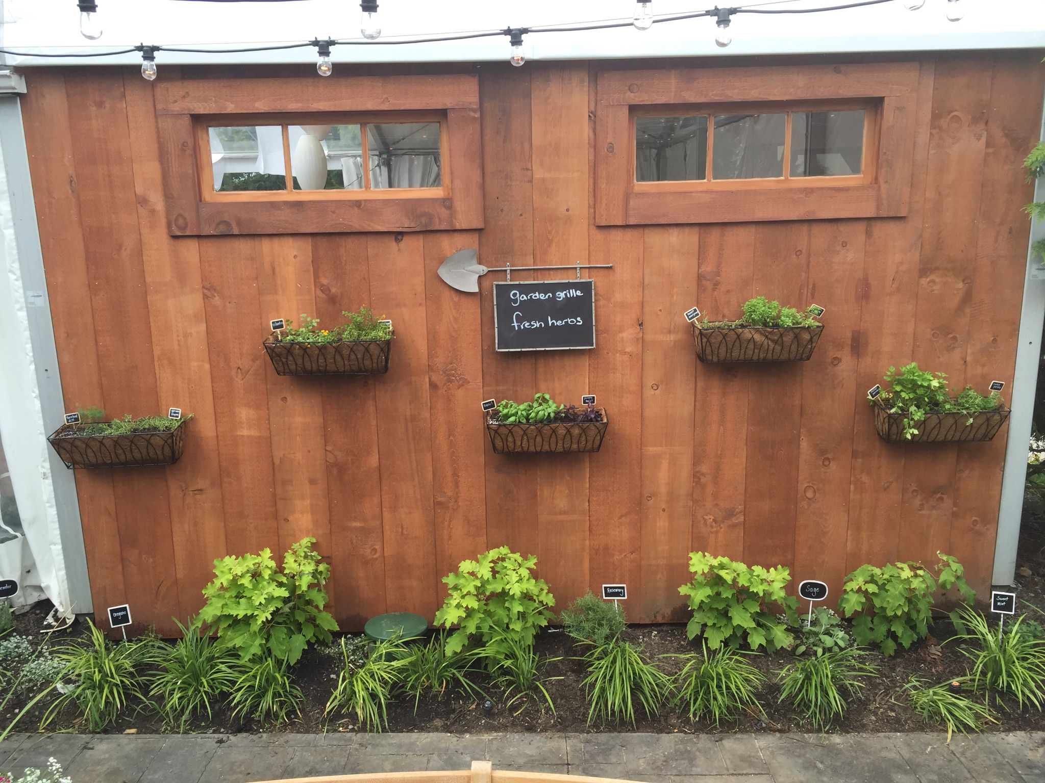 The Garden Grille restaurant has its very own herb garden at The ...
