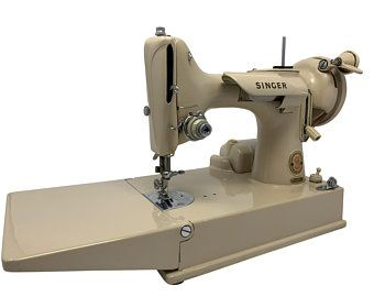 Early 1930s Singer Featherweight 221 Sewing Machine Custom ...