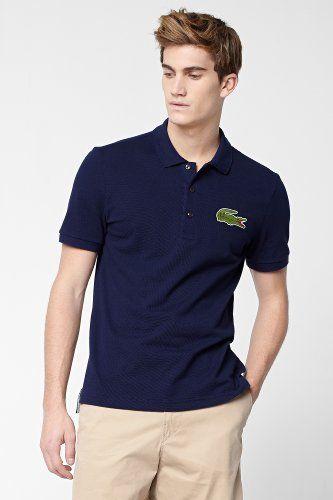 0a85f4524d91 Lacoste Short Sleeve Big Croc Pique Polo   Polo Shirts