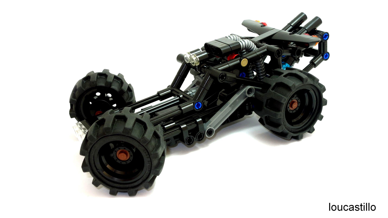 Buggy 110 Off Road Baja Rail Lego Technic Legos Lego Moc