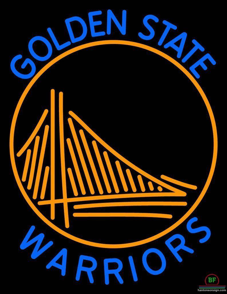 Golden State Warriors Neon Sign Nba Teams Neon Light Golden State Warriors Wallpaper Golden State Warriors Warriors Wallpaper