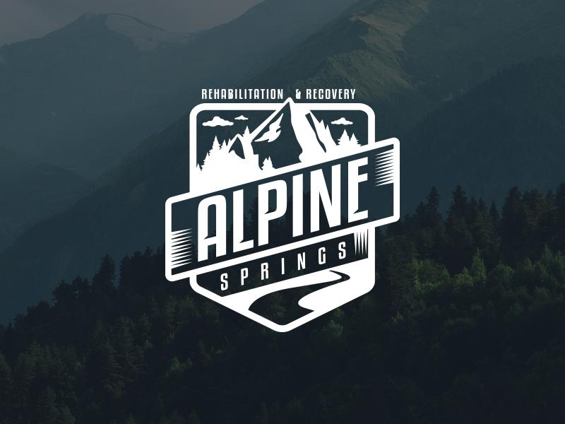 Download Alpine Logo Mockup Alpine Logo Logo Mockup Outdoor Logos