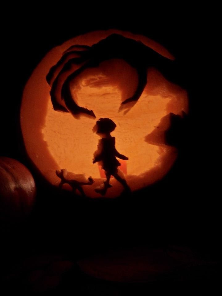 The Pumpkin We Carved Pumpkin Pictures Halloween Town Pumpkin Carving