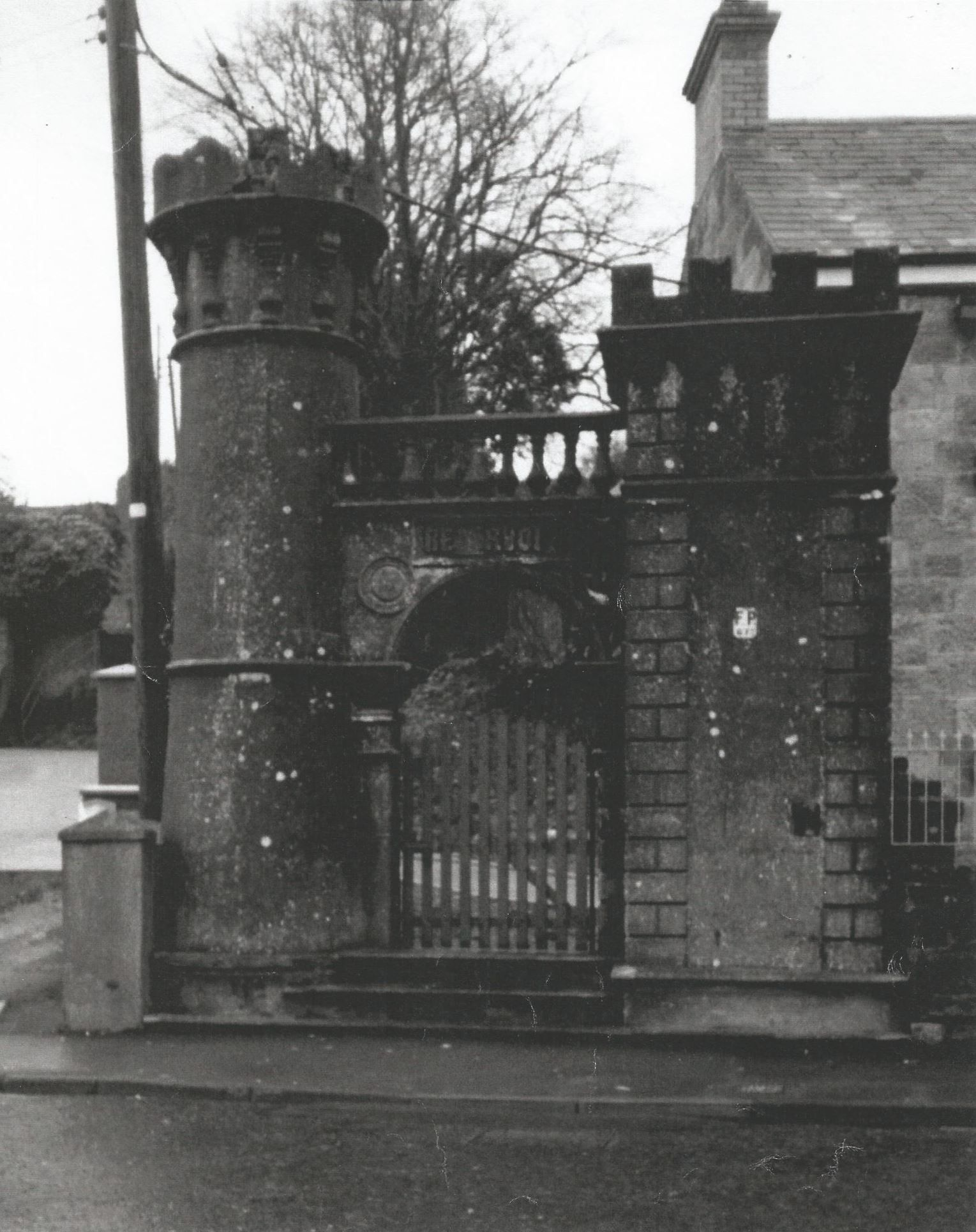 Gates In Thomas Street That Lead To The Town Reservoir At Castle Hill Dungannon Towns Ancestral Historical Photos