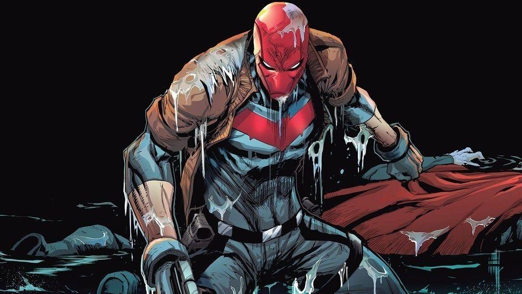 Red Hood Robin Wet Batman Wallpaper Red Hood Wallpaper Red Hood Hood Wallpapers
