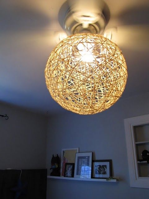 Yarn Twine Light Shade Great For A Country Or Beachy Look Yarn