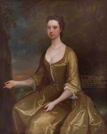 The Honourable Margaret Pelham (1700-1758), Lady Shelley. At Clandon Park (National Trust)