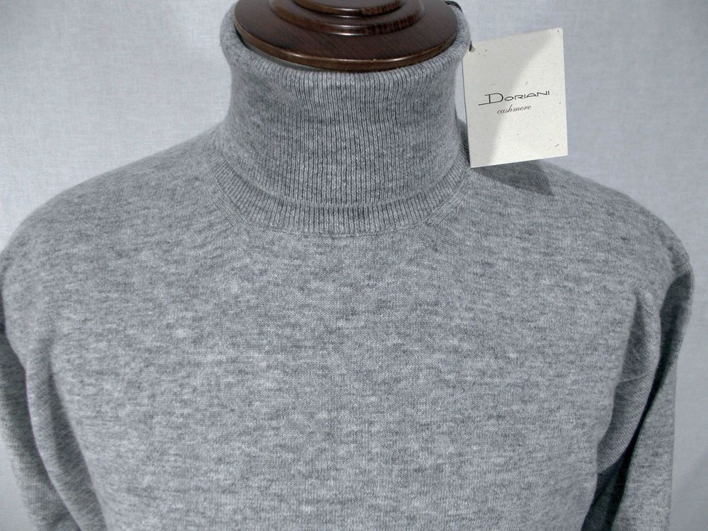 timeless design 0e027 d9a0c Dettagli su NWT DORIANI maglione uomo DOLCEVITA lana ...