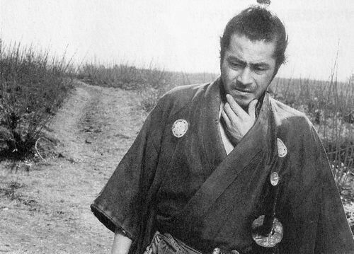 三船 敏郎さん『桑畑三十郎(用心棒)』 | 侍 写真, 三船, 日本映画
