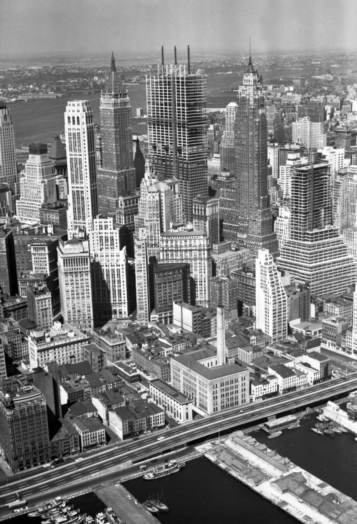 Chase Manhattan Bank Building, 1959 Photos Manhattan
