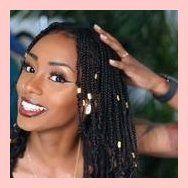 LavishlyBritt mini braids protective styling #protectivestyle #naturalhair | 7346
