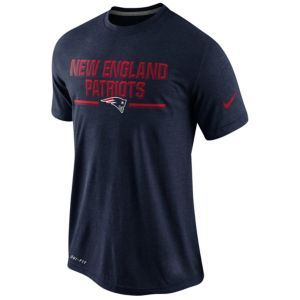 Nike NFL Dri-Fit Chiseled T-Shirt - Men s - New England Patriots - College  Navy 63956b0c3