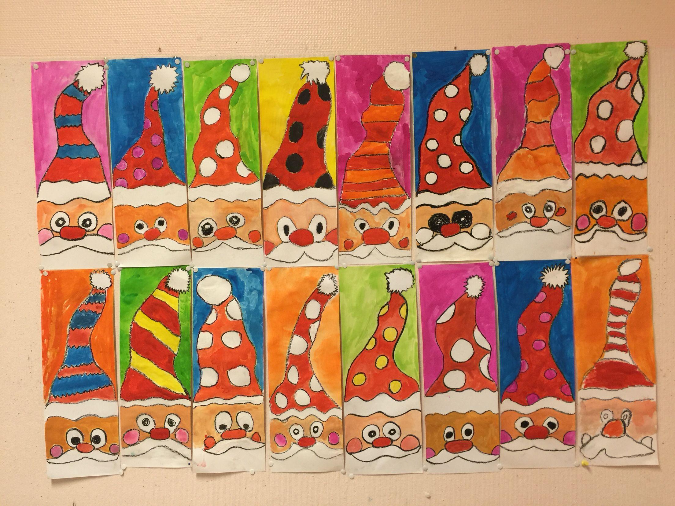 Art projekt Third grade A Gun christmas art projekt