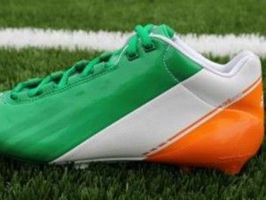 University Of Notre Dame Football Team To Wear Irish Flag Notre