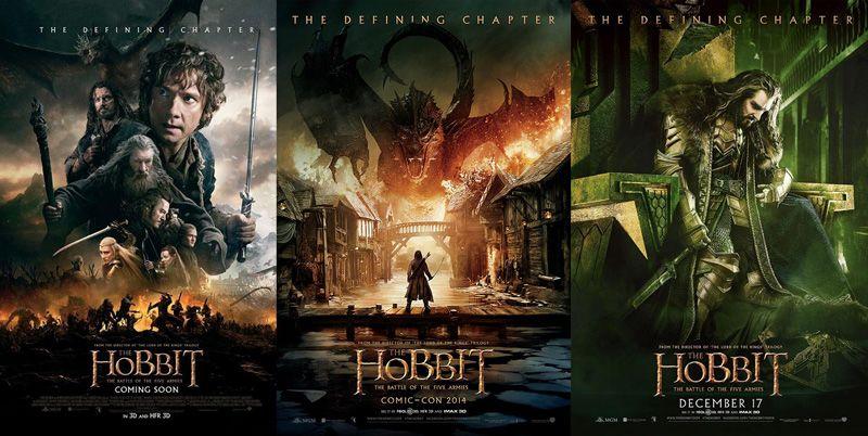 نتيجة بحث الصور عن The Hobbit Trilogy