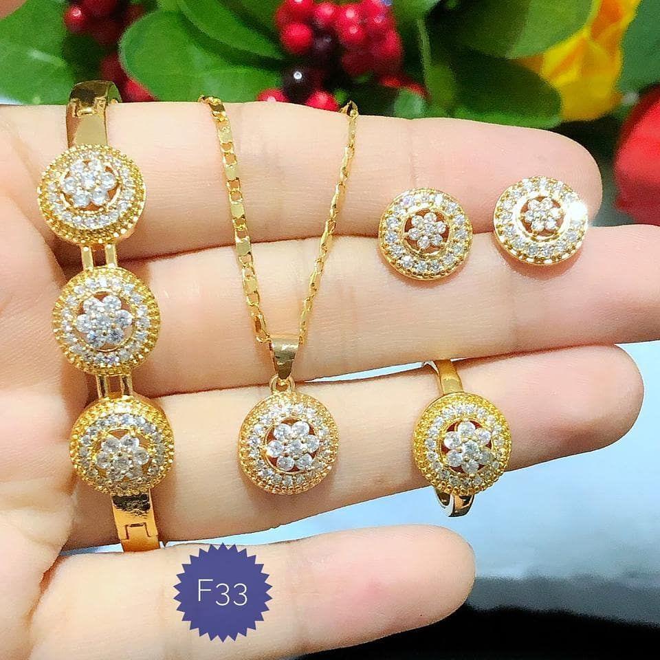 130k Menjual Perhiasan Xuping, lapis emas 24 karat dan ...