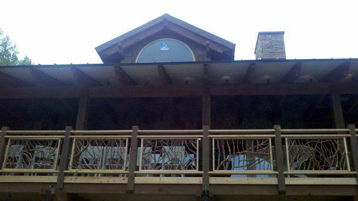 Best Pin By Deanna Kuder On Railings Deck Railings Deck Lodges 400 x 300